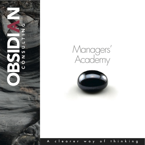 Obsidian managers academy500